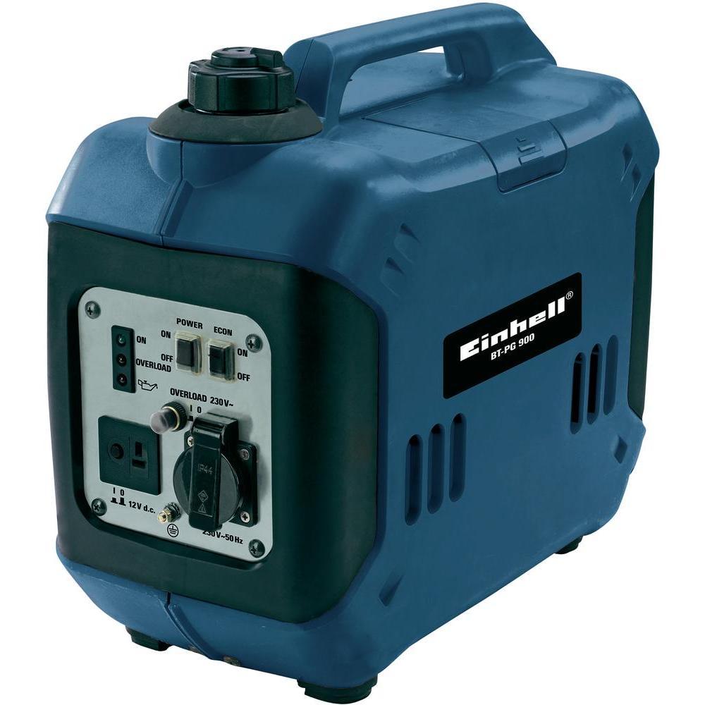 EINHELL benzinmotoros egyfázisú áramfejlesztő aggregát generátor BT-PG 900