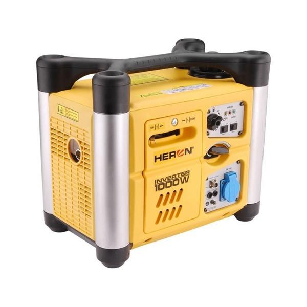 HERON DGI 10 SP áramfejlesztő, 1,0kVA, 230V hordozható, szabályozott digitális