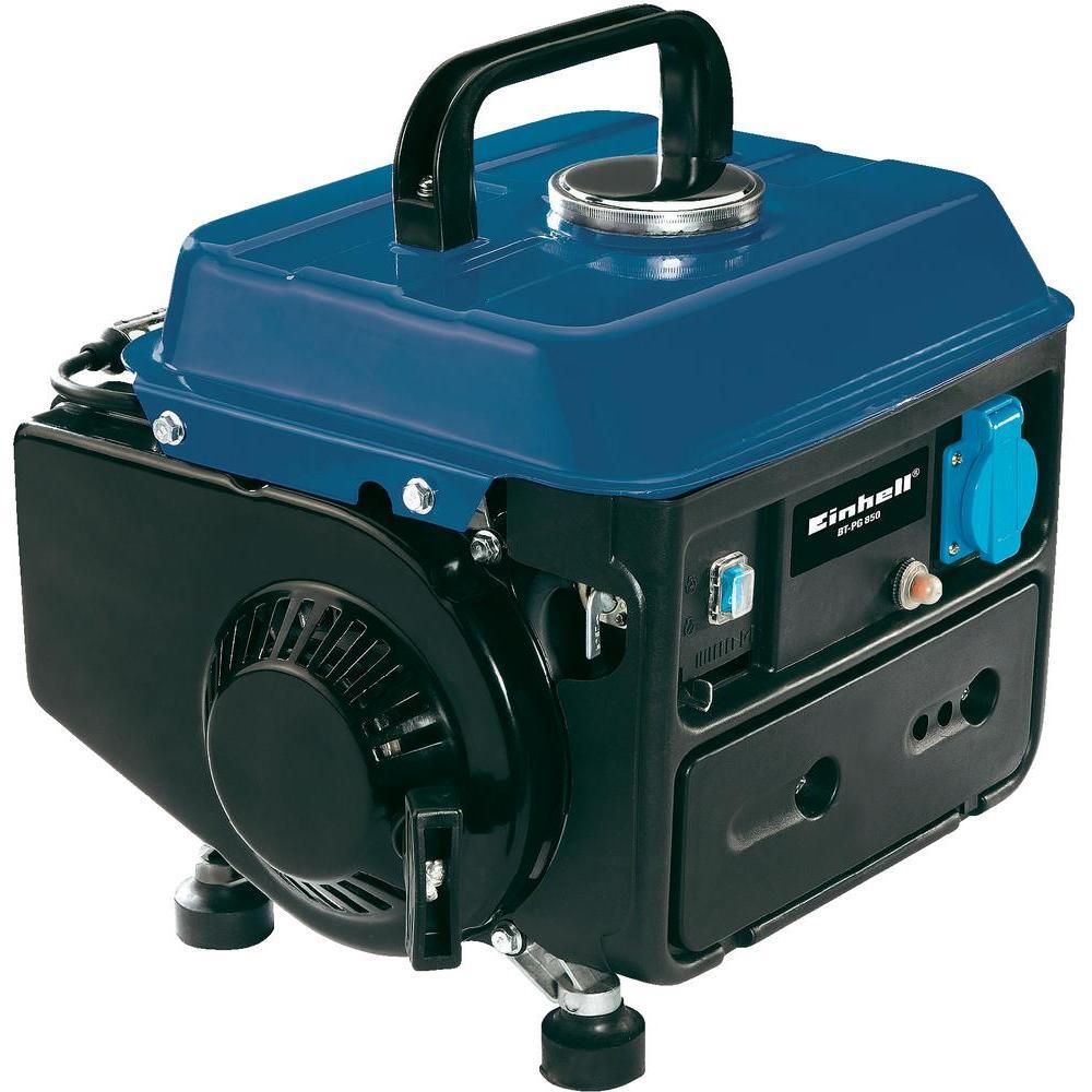 Einhell benzinmotoros áramfejlesztő aggregát generátor 1Fázis 0,6 kVA, BT-PG 850
