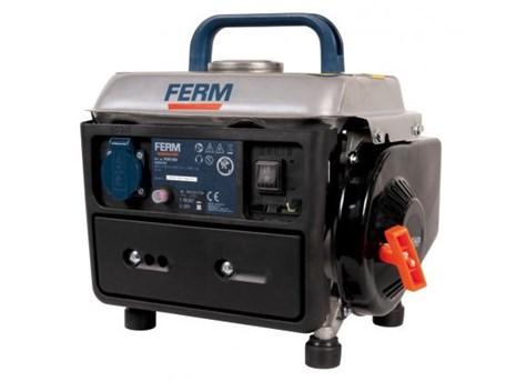FERM benzinmotoros áramfejlesztő aggregát generátor, léghűtés 1Fázis 0,6 kVA, FGG-800