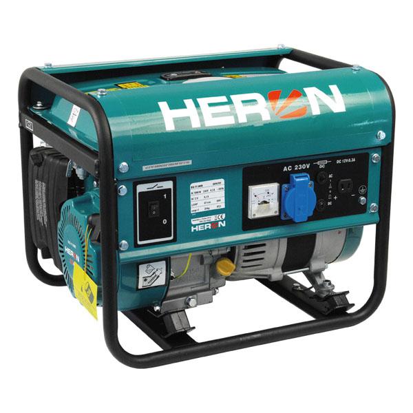 HERON Benzinmotoros egyfázisú áramfejlesztő, generátor aggregát EG 11 IMR