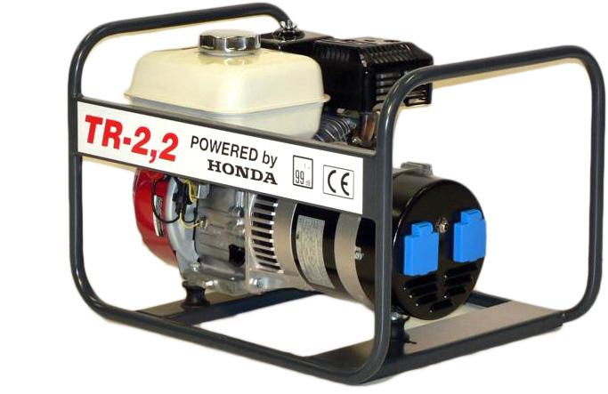 Honda benzinmotoros áramfejlesztő aggregátor 1Fázis 2,2 kVA, TR-2,2