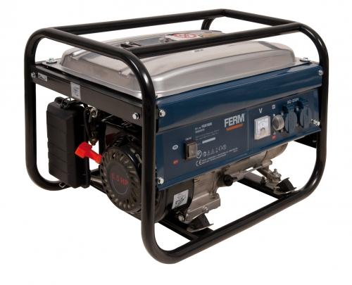 FERM benzinmotoros egyfázisú aggregát generátor áramfejlesztő FGG-2000/15