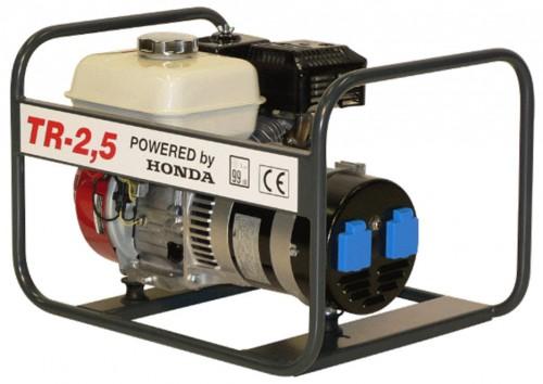Honda benzinmotoros áramfejlesztő generátor aggregát 1Fázis 2,2 kVA, TR-2,5