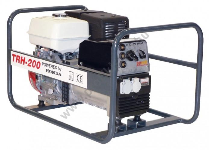 Honda benzinmotoros TRH-200 áramfejlesztõ, 1 fázis 7 kVA
