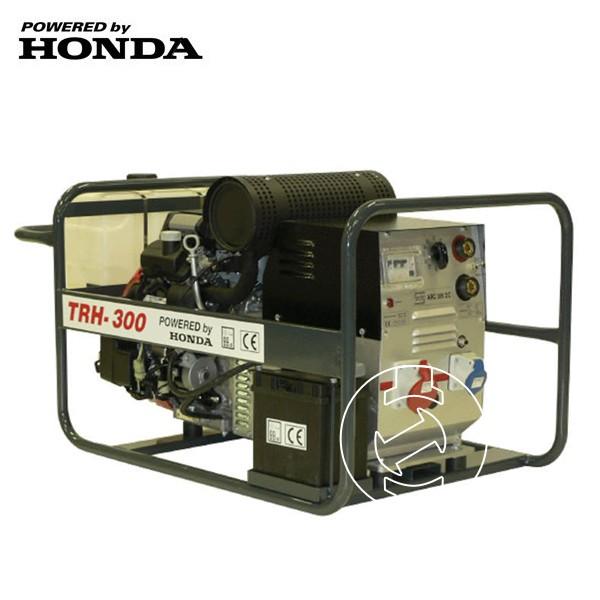 Honda benzinmotoros TRH-300 áramfejlesztõ, 1 fázis 3 kVA, 3 fázis 8 kVA
