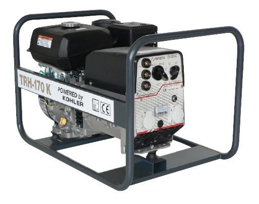 Kohler benzinmotoros TRH-170 K áramfejlesztõ, 1 fázis 5 kVA